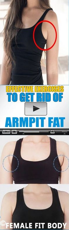 Effective #Exercises to Get Rid of #ARMPIT #Fat (#Video)