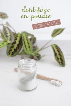 DIY : le dentifrice en poudre à base de plantes et d'argile ! 100% naturel & bio - 100% personnalisable !