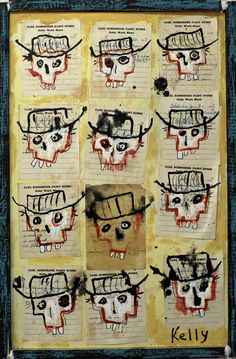 """12 Dead Cowboys"" by Flea Market artist Kelly Moore"