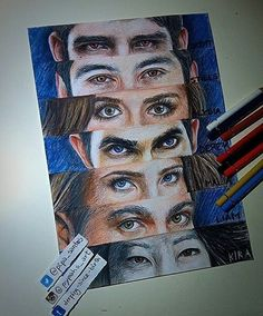 Drawing Teen Wolf
