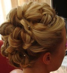 Vintage updo wedding hairstyles hairstyle names a mawwiage weddingupdohairstylesformediumlengthhair wedding updo pmusecretfo Images