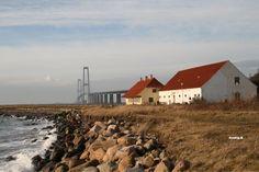 Great Belt Bridge Korsør Denmark Korsør Rev