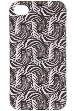 **Zebra Print iPhone Case by J.W. Anderson for Topshop