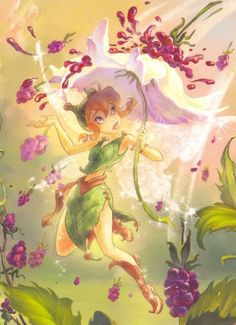 Disney Fairies Beck wallpaper possibly with a pillow in The Disney Fairies Club Tinkerbell Movies, Tinkerbell And Friends, Hades Disney, Disney Drawings, Cartoon Drawings, Dreamworks, Fairy Berries, Disney Faries, Fairies Photos