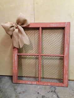 Reclaimed antique Window by JRBCreationss on Etsy, $35.00