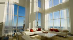 Inside the Epic, Art-Filled Penthouse With A Waterfall By ODA