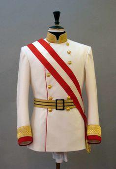Homme Royal Navy ADMIRAL Costume Adultes commandant militaire uniforme robe fantaisie