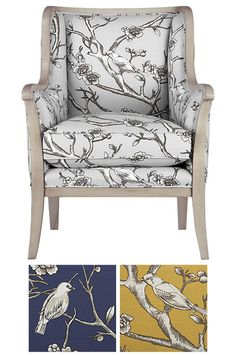 Carly Chair from Crate&Barrel. SO comfy.