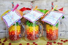Three Sweet Gift Ideas with Free Printables