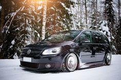 vw touran - diy facelifted