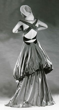 Charles James produced some of the most memorable garments ever made. He began his design career in the 1930s.  It peaked between the late 1940s and mid- 1950s, when his scarce and highly original gowns were sought after by society's most prominent women