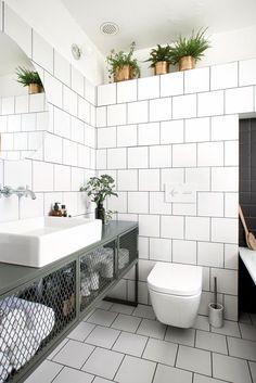 Go for durability and uniqueness! VIGO Bathroom Sinks and Faucets Design Ideas Bathroom Closet, Laundry In Bathroom, Small Bathroom, Bathroom Plants, Bathroom Sinks, Washroom, White Bathroom, Bathroom Floor Plans, Bathroom Flooring