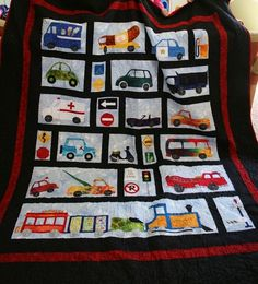 Cars and Trucks Quilt