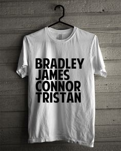 The Vamps Band Line Up Inspired White T Shirt Unisex Adult on Etsy, £11.03
