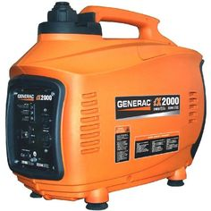 Generac 5793 iX2000 2,000 Watt 126cc 4-Stroke OHV Gas Powered Portable Inverter Generator for sale