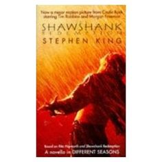 Shawshank Redemption. Our Director likes this book too.