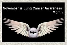 November is lung cancer awareness month. Lung Cancer Awareness Month, Mortality Rate, Cancer Fighting Foods, Body Tissues, Types Of Cancers, Cervical Cancer, Cancer Facts, Cancer Treatment, Lunges