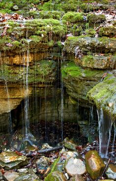 Lost Valley State Park. Ponca, Arkansas.