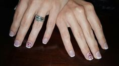 Christmas thin acrylic overlay, 1 opening left next Tuesday at 10, call now and receive  $10 off new clients.