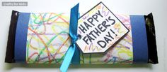 Here are a few super sweet and simple craft ideas for Father's Day, which is this Sunday, June 17th!