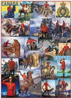 Dating back to the Royal Canadian Mounted Police now consist of over officers. Over time their responsibilities expanded to include airport policing, VIP security and drug enforcement. 300 Piece Puzzles, Puzzle Pieces, 1920s Advertisements, Canada Memes, Police, Canadian Things, Canadian History, Canada Day, Art Pictures