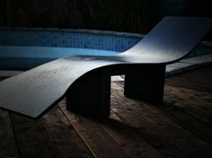 The Wentzel Swoop Chair...experimental and in development.