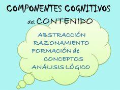 Componentes cognitivos del lenguaje