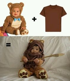 DIY baby Ewok~The Dork Side.