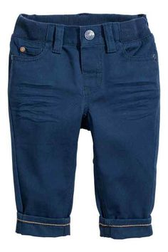 Pantaloni in twill