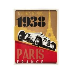 Racecar Banner (Paris)  | The Land of Nod