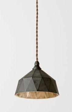 fugatami brass pendant lamp