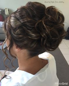 Hair styled by Chanae Hiller at Ahead of Style Hair Artistry