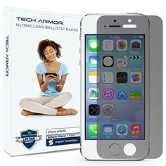 Tech Armor 2-Way Privacy Ballistic Glass Screen Protector for iPhone 5/5c/5s/SE >>> Learn more by visiting the image link.