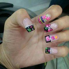 Nail Polish Designs, Nail Art Designs, Beauty Nails, Hair Beauty, Stylish Nails, Pedicure, Hair And Nails, Make Up, Fingers