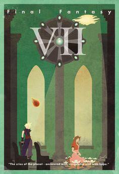 Un poster perfecto para la sala de juegos