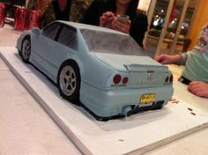 skyline car cakes for 21st - Google Search
