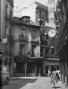 Calle Postas, 1974, Madrid