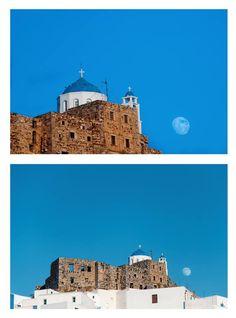 Chora - Castle - Astypalaia Zorba The Greek, Greek Islands, Study Abroad, Sailing, Greece, Castle, World, Places, Pretty