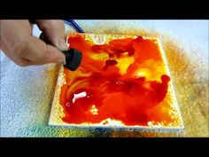 Linda Melvin's Abstract Fluid Watercolor System--- Lesson 9 - YouTube
