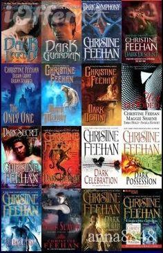 Christine Feehan- LOVE LOVE LOVE her books!!!!