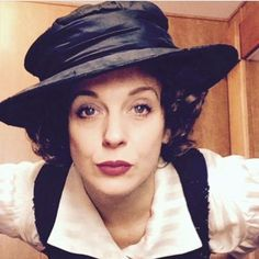 """""""Oh, How Naughty."""" Amanda Abbington as Miss Mardle"""