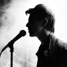 Bowie in black and white...