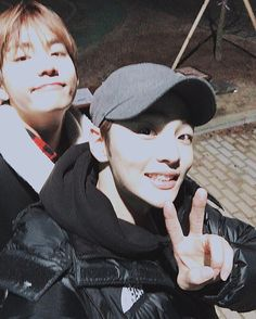 Actor Kim Min Jae Posted a Picture with BTS V [160203]
