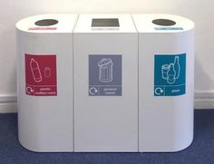Bon Office Recycling Bins. Home Office Design UK