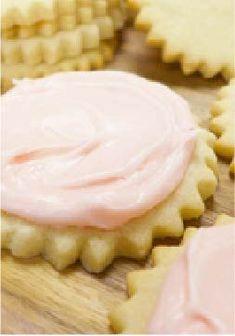 Frosted Pink Lemonade Cookies