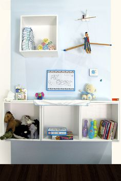 Everything is hanged on our magnets: Kid's room example! @magnektik.com #design #magnet #magnets #DIY #interior
