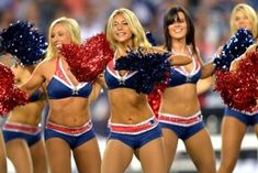 New England Patriots Cheerleaders | New England Patriots cheerleaders. (Getty Images)