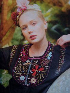 Gudrun Sjöden Blouse Frida Kahlo Style