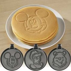 Amazon.com: Disney Pancake Pans - Mickey Mouse: Kitchen & Dining