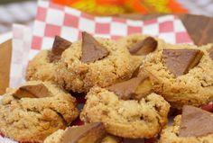 Cookies américains au beurre de cacahuètes (peanut butter cookies - subt...